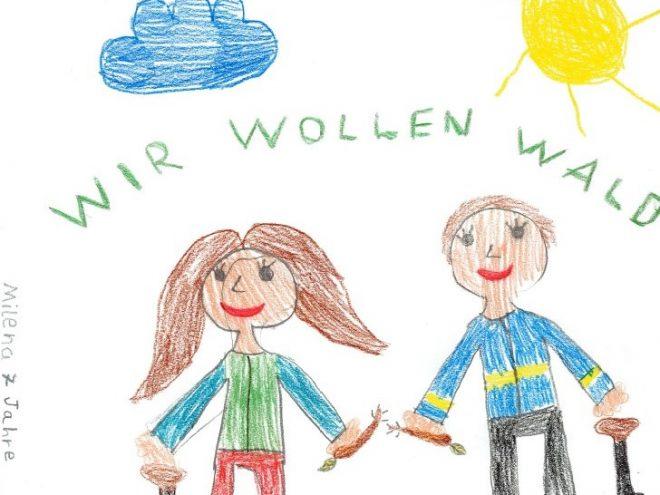 61 Schüler der Friedrich-Wilhelm-Schule pflanzen 1000 Bäume